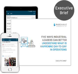 [Executive Brief] 5 Ways Industrial Leaders Can Better Understand Operations
