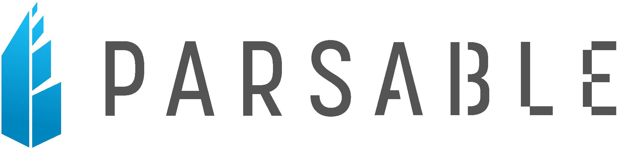Parsable logomark