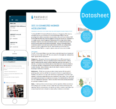 [Datasheet] OEE 2.0 Connected Worker Accelerators
