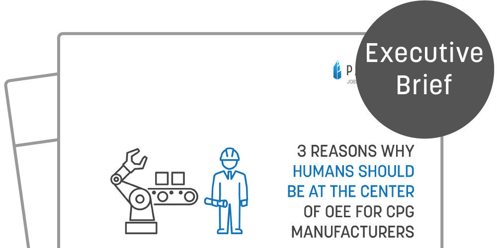 EB005 3 Reasons Why Humans Should be at the Center of OEE for CPG Manufacturers exec brief Icon