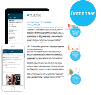 OEE 2.0 Connected Worker Accelerators Datasheet landing page