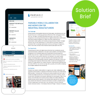 Parsable Mobile Collaboration and Workflow for Industrial Manufacturers