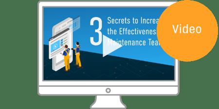 V012 3 Secrets to Increase the Effectiveness of Maintenance Teams Webinar icon
